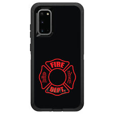 OtterBox Defender for Galaxy S5 S6 S7 S8 S9 PLUS Red Fire Department