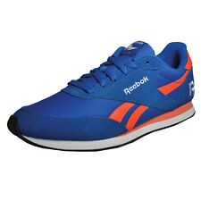 Reebok Royal Classic Jogger 2RS Mens Casual Retro Heritage Trainers Blue