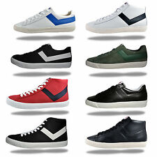 Pony Mens Premium Heritage Casual Retro Trainers - From
