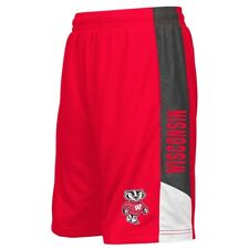Youth Wisconsin Badgers NCAA Strike Shorts  - Red