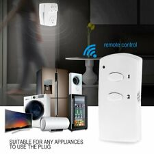 Remote Control Sockets Wireless Switch AC Power Outlet Home Appliance US/EU F5