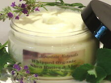 *Whipped Organic Shea & Aloe Body Butter Moisturizer w/ Your Choice of Fragrance