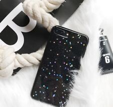 Glitter Shinning Star Galaxy Silicon Gel Soft Case Cover iPhone 6 6S 7 8 X Plus