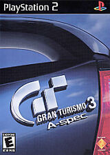 Gran Turismo 3 A-spec  PS2 (Sony PlayStation 2, 2001) COMPLETE