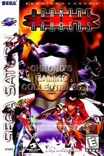 RGC Huge Poster - Burning Rangers Sega Saturn BOX ART - SAT010