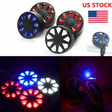 Cycling Bicycle Super Bright Red 9 LED Rear Tail Light Safety Warning Bike Lamp