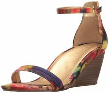 Kenneth Cole Reaction Womens Cake Icing Open Toe Casual Wedged Sandals