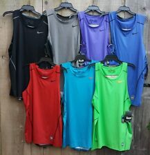 NEW NIKE Pro Combat Hypercool Fitted sleeveless tank 693651 PICK COLOR,  SIZE