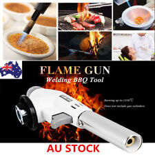 Camping Gas Torch Welding Fire Maker Soldering Lighter Butane Burner Flame Gun