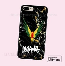 Maveric Logang Black Marble Hard Plastic CASE COVER for iPhone 6s/ 6s+/ 7/ 7+