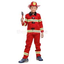 MagiDeal Boy Kid Fireman Fire Fighter Fancy Dress Costume Outfit Christmas Party