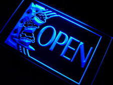 """16""""x12"""" m091-b OPEN Cake Cafe Shop Neon Sign"""