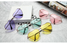 Womens Heart Shape Sunglasses Festival Lolita Style Fancy Party Eyewear Glasses