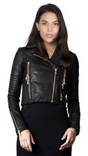 leather jacket womens motorcycle biker New coat lambskin Slim women Jacket 251