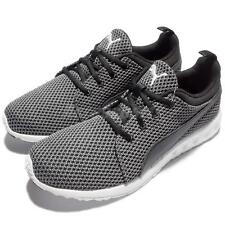 Puma Carson Knitted Black White Mens Running Shoes Trainers 189685-01
