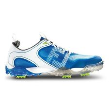 FootJoy Freestyle Golf Shoe - 57340  - White/Blue - Manufacture Closeout