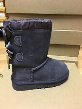 Authentic Uggs - Bailey Bow Ruffles - Night - Little Kid Size 7-12