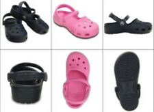 New Crocs Girl Karin Clogs Mary Jane Shoes Size 10, 11, 12 black navy or pink