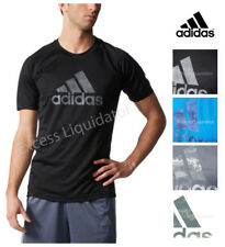 Adidas Men's Moisture Wicking Climalite® Graphic Athletic Performance T-Shirt