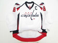 ALEX OVECHKIN WASHINGTON CAPITALS AUTHENTIC AWAY REEBOK EDGE 2.0 7287 JERSEY