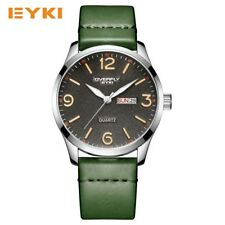 EYKI Business Quartz Leather Sport Wristwatch Men Watches Mens Sports Watch Date