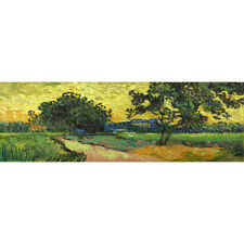 Photography Wall Art Canvas Print Ready To hang Landscape at Twilight - Van Gogh