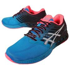 Asics FuzeX Blue Black Red Mens Running Shoes Trainers Gel T639N-4201