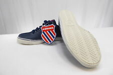 New K-Swiss Mens Leather Athletic Shoes -SURF N TURF - Navy Leather