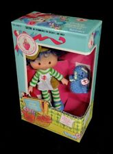 NIB 1980s Toy Kenner Crepe Scented Strawberry Shortcake Crepe Suzette With Pet