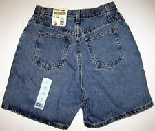NWT Womens Denim Shorts Size 10 Relaxed  Faded Glory Blue Jean