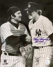 "GOOSE GOSSAGE (Yankees) authentic signed ""HOF 2008""11x14 photo w/ Thurman Munson"