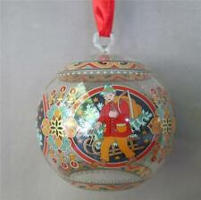 Hutschenreuther 2002 Christmas Crystal Ball Ornament Austria Germany