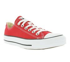 New Converse Chucks All Star Ox Shoes Trainers Red M9696 Leisure WOW
