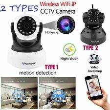 1/2X Night Vision Wireless Pan Tilt HD 720P IP WiFi Camera Security CCTV HP