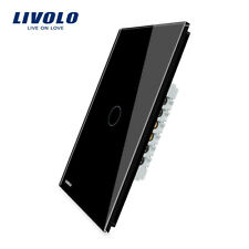 Livolo New US Vertical AC 110-250V 1 Gang 1 Way Wall Light Remote Dimmer Switch