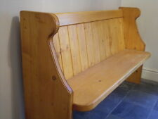 Formby Church Pew / Bench  - 4/5/6/7 ft - Antique Oak / French Oak
