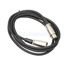 XLR 3 Pin Male to Female Microphone Mic Audio Shielded Extension Cable Wire