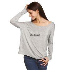Meaneor Women Fashion Casual Loose Round Neck Long Batwing Sleeve Solid LKR8