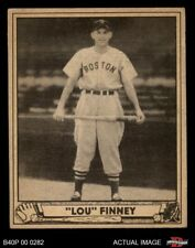 1940 Play Ball #197 Lou Finney -  Red Sox EX