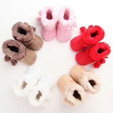 Baby Boy Girl Soft Sole Snow Boots Newborn Infant Toddler Warm Crib Shoes Conven