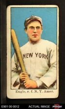 1909 E90-1 American Caramel Clyde Engle Giants GOOD