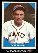 1960 Fleer #4 Carl Hubbell Giants NM/MT