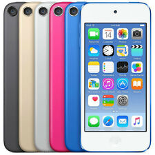 Apple Ipod Touch 32gb 6th Gen Blue Gold Space Gray New Factory Sealed
