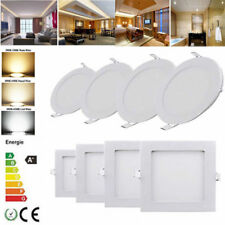 Wholesale!! 6W-24W LED Recessed Ceiling Panel Flat Light Fixture,1 Year Warranty