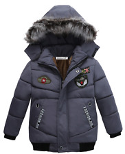 Top quality hooded winter jacket/coat for boys