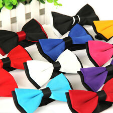 Men Wedding Bowtie Formal Necktie Novelty Tuxedo Bow Tie Adjustable Party Prom