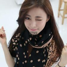 Fashion Lady Women Thin Gradient scarf Soft Dotted Wrap Shawl Long Scarf KECP