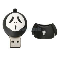 Novelty Cartoon Halloween Ghost Model USB 2.0 Stick Flash Drive Memory Drive