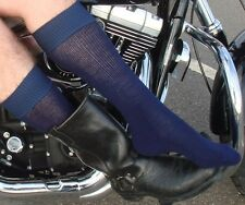 2 Pairs of Hi-Tech Boot Socks - for Motorcycle & cowboy Boots > M/L or L/XL