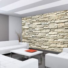 "Fleece Photo Wallpaper ""Noble Stone wall - beige - ENDLESS - stacking"" ! Tap"